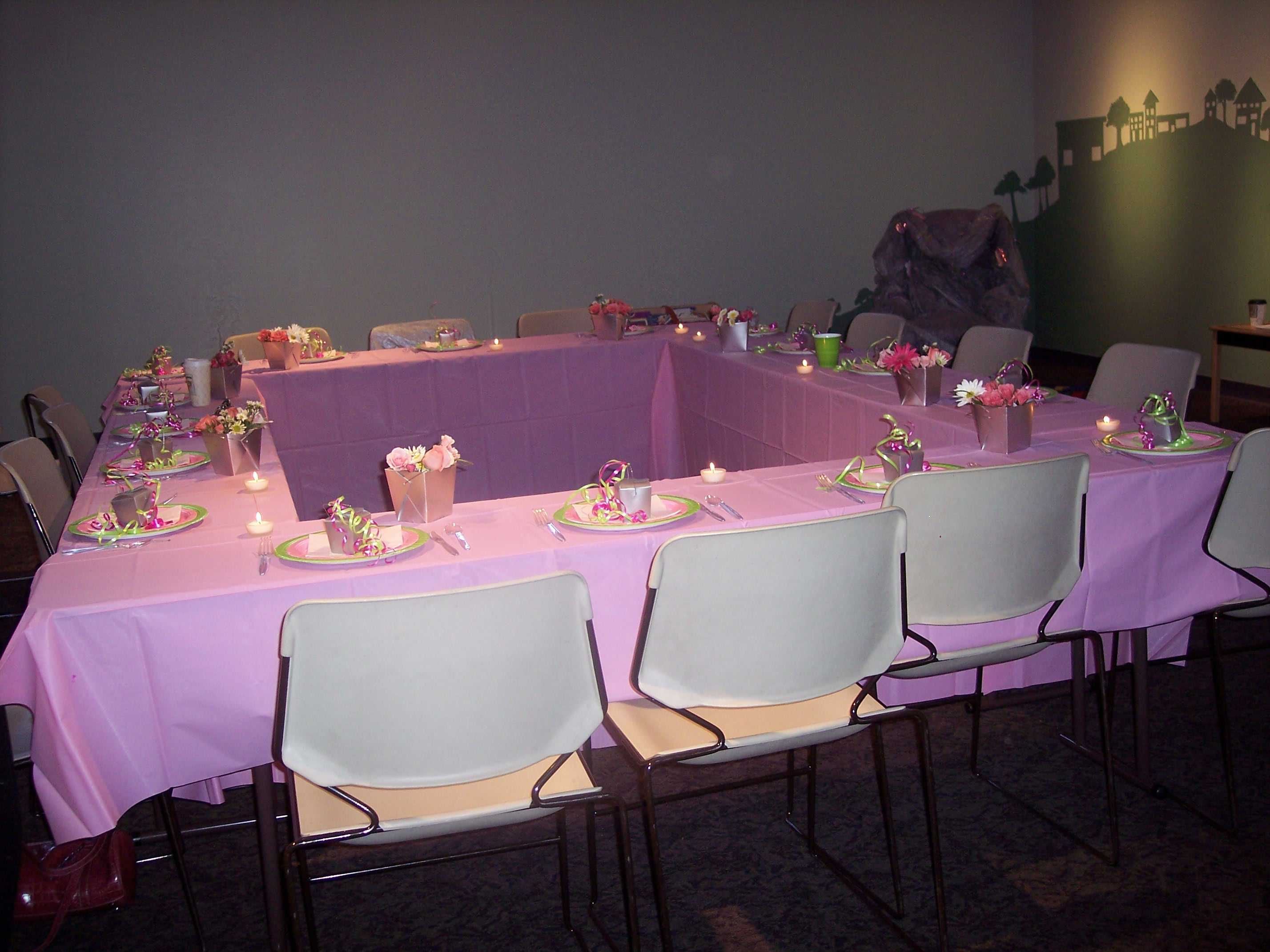 purple and green baby shower decorations. Event Gallery  Baby Shower Blissful Bashes Blog